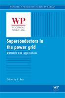 Cover image for Superconductors in the power grid : materials and applications
