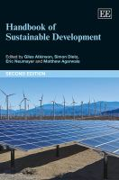 Cover image for Handbook of sustainable development