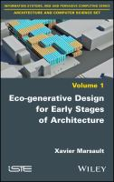 Cover image for Eco-generative Design for Early Stages of Architecture