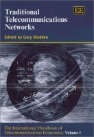 Cover image for Traditional telecommunications networks