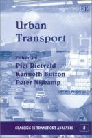 Cover image for Urban transport