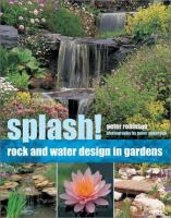 Cover image for Splash! : rock and water design in gardens