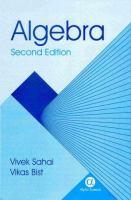 Cover image for Algebra