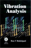 Cover image for Vibration analysis