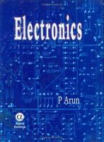 Cover image for Electronics