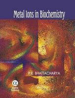 Cover image for Metal ions in biochemistry