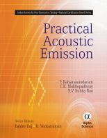 Cover image for Practical acoustic emissions