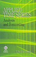 Cover image for Applied time series : analysis and forecasting