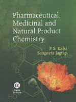 Cover image for Pharmaceutical, medicinal and natural product chemistry