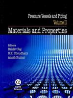 Cover image for Pressure vessels and piping. Volume II, Materials and properties