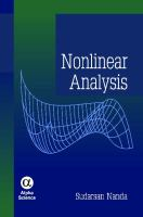 Cover image for Nonlinear analysis