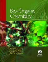 Cover image for Bio-organic chemistry