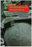 Cover image for The origins of development economics : how schools of economic thought have addressed development