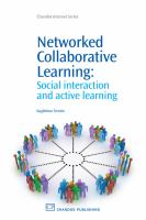 Cover image for Networked collaborative learning : social interaction and active learning