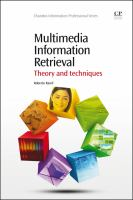 Cover image for Multimedia information retrieval : theory and techniques