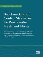 Cover image for Benchmarking of control strategies for wastewater treatment plants