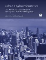 Cover image for Urban hydroinformatics : data, models, and decision support for integrated urban water management