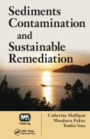 Cover image for Sediments contamination and sustainable remediation