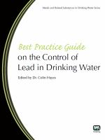 Cover image for Best practice guide on the control of lead in drinking water