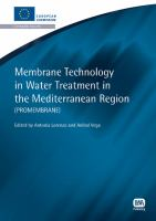Cover image for Membrane technology in water treatment in the Mediterranean region (ProMembrane)
