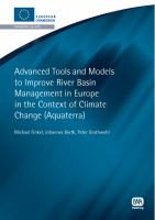 Cover image for Advanced tools and models to improve river basin management in Europe in the context of global change (AquaTerra)