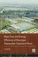 Cover image for Mass flow and energy efficiency of municipal wastewater treatment plants