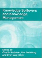 Cover image for Knowledge spillovers and knowledge management