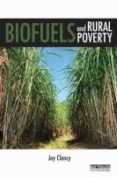 Cover image for Biofuels and rural poverty