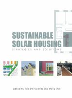 Cover image for Sustainable solar housing : strategies and solutions