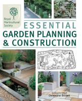 Cover image for Essential garden planning and construction