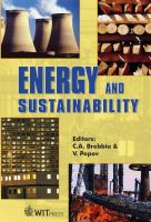 Cover image for Energy and sustainability