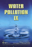 Cover image for Water pollution IX