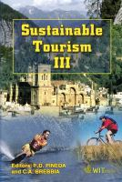 Cover image for Sustainable tourism III