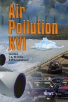 Cover image for Air pollution XVI