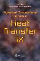 Cover image for Advanced computational methods in heat transfer IX