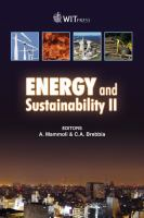 Cover image for Energy and sustainability 2