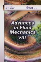 Cover image for Advances in fluid mechanics VIII