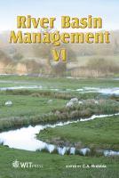 Cover image for River basin management VI