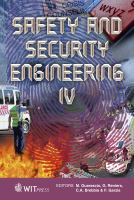 Cover image for Safety and security engineering IV