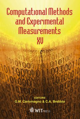 Cover image for Computational methods and experimental measurements XV