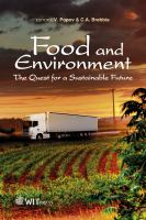 Cover image for Food and environment : [the quest for a sustainable future]