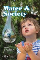 Cover image for Water and society