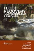 Cover image for Flood Recovery, Innovation and Response III