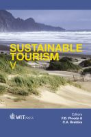Cover image for Sustainable tourism V