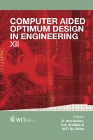 Cover image for Computer aided optimum design in engineering xii
