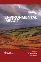 Cover image for Enivronmental impact