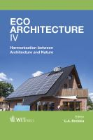 Cover image for Eco-architecture IV : harmonisation between architecture and nature