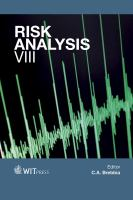 Cover image for Risk analysis VIII