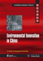 Cover image for Environmental innovation in China