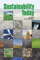 Cover image for Sustainability today